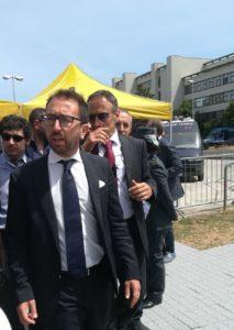 VISITA DEL MINISTRO BONAFEDE PRESSO GLI UFFICI GIUDIZIARI DI BARI: CONFINTESAFP PRESENTE