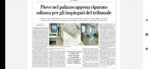 La Giustizia che fa acqua, a Palermo e non solo