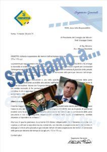 RICHIESTA DI INTERVENTO PER LA GRAVE LACUNA DEL D.L. 17/03/2020 N. 18