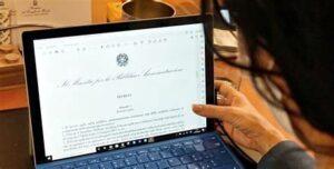 Accordo sulla attuazione del lavoro agile presso l'amministrazione giudiziaria