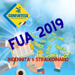 FIRMATO ACCORDO FUA 2019